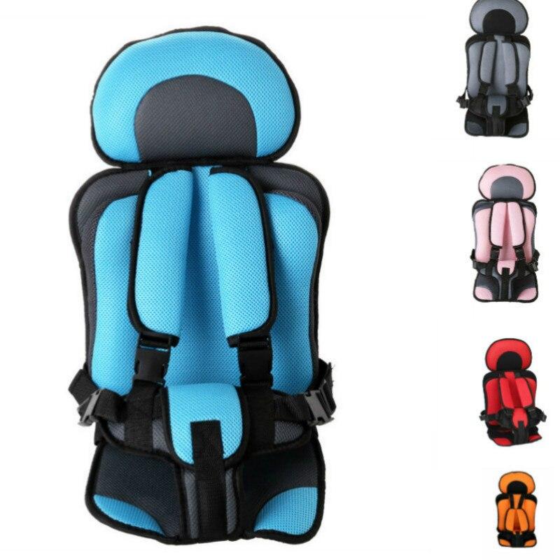 0-5 ano Esteira Do Assento de Carro Do Bebê Portátil Criança Assento de Bebê Simples Cadeiras de Espessamento Esponja Caçoa o Carro Carrinho De Criança assentos Almofada