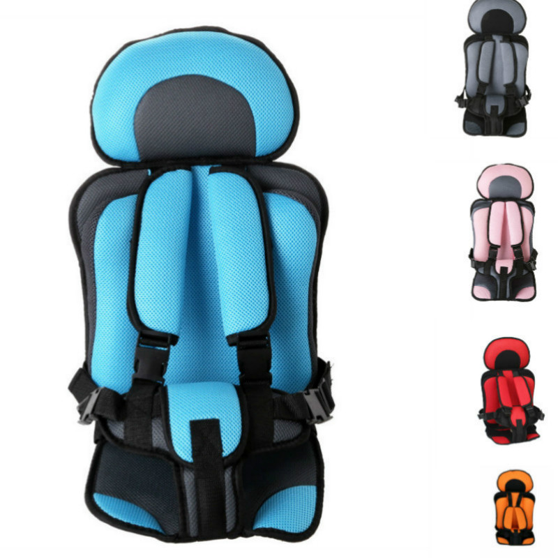 0-5 Year Baby Car Seat Mat Portable Toddler Booster Seat Simple Baby Chairs Thickening Sponge Kids Car Stroller Seats Pad