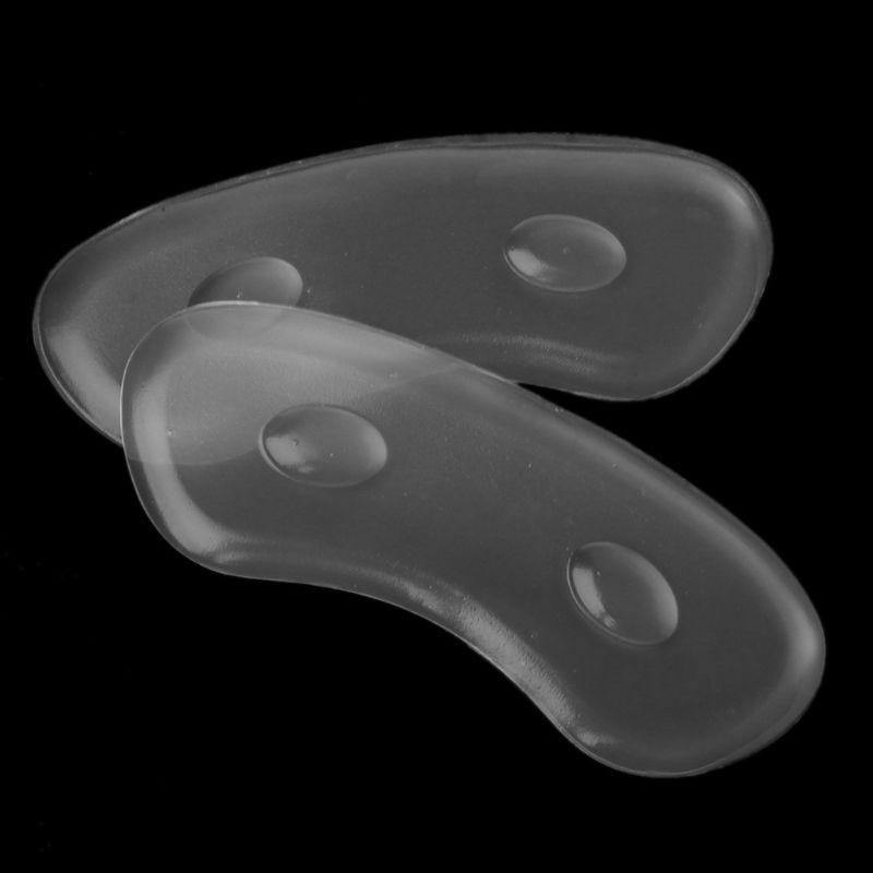 1 Paar Ferse Pads Schuh Heels Nicht Relief Hohe Ferse Frauen Selbst Klebe Massage Kissen Gel Silikon Unsichtbare Einlegesohle Pad