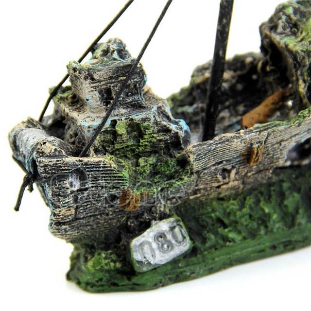 Shipwreck Aquarium Ornament 6
