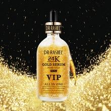 DRRASHEL 24K Gold Face Serum Lifting Firming Essence Hyaluronic Acid Whitening Moisturizing