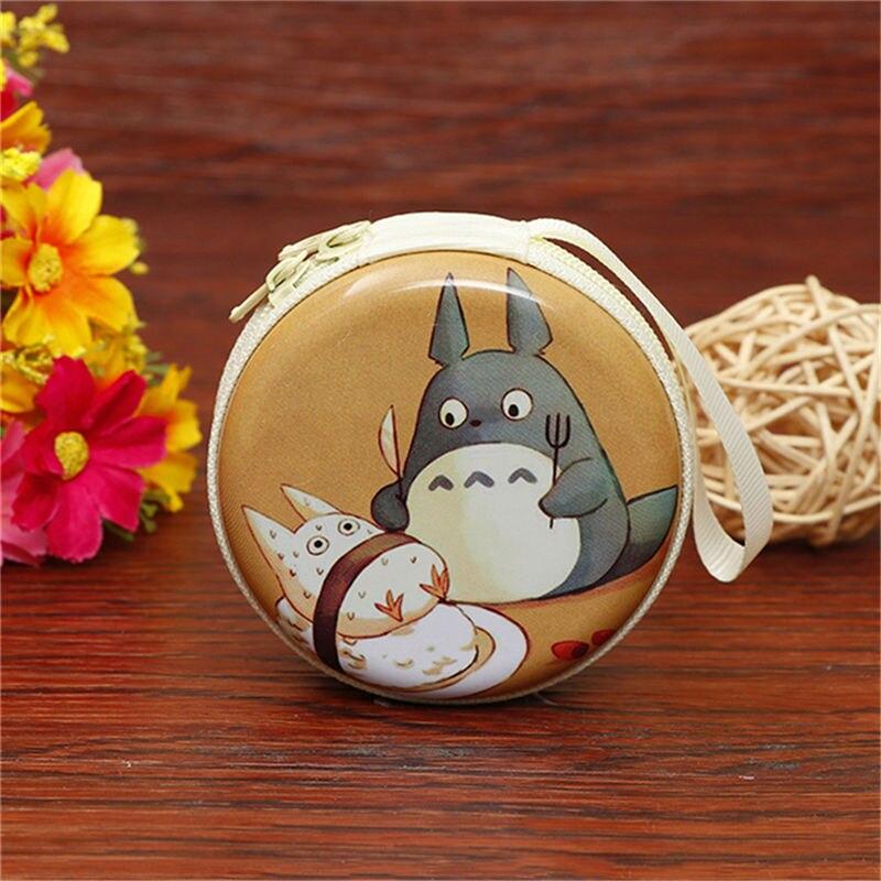 Лидер продаж, кошелек для монет с героями мультфильмов, Эльза, Анна, принцесса, чехол для ключей для девочек, кошелек, детский Снежная королева, гарнитура, сумка для монет - Цвет: Totoro 4