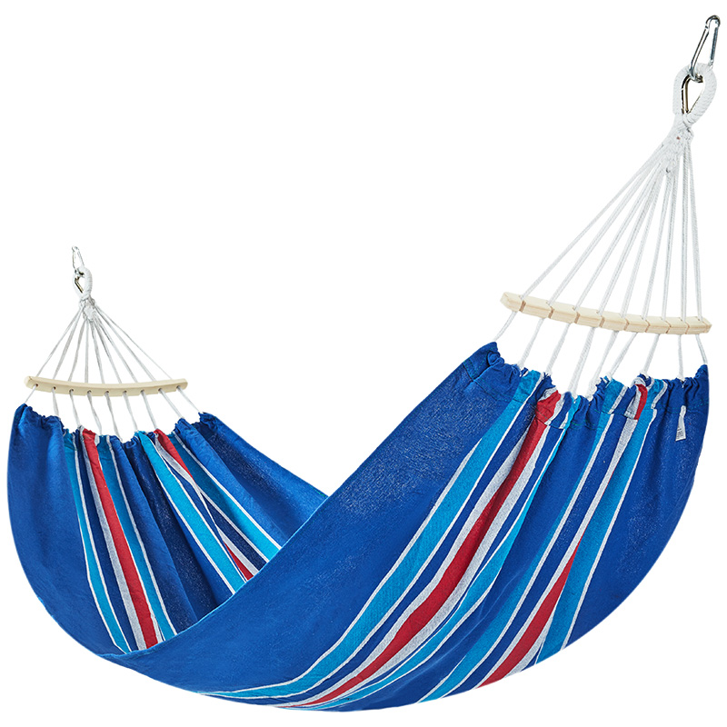 Adult Outdoor Hammock Sleeping Anti Rollover Leisure And Entertainment Swing Single And Double Person Household Dormitory Swing