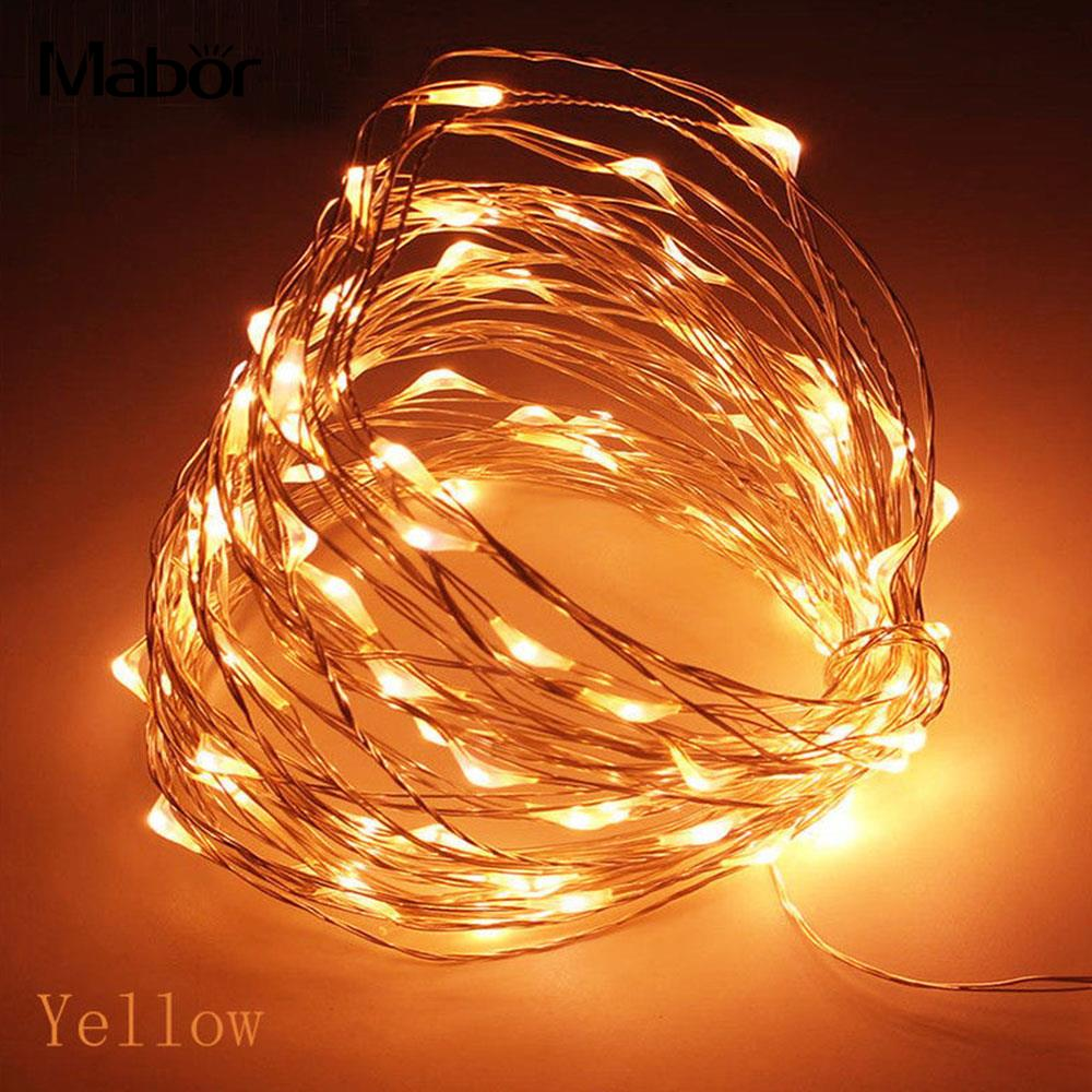 Bright July Diy Outdoor String Lights: Aliexpress.com : Buy 10M 100LED Copper Wire Super Bright