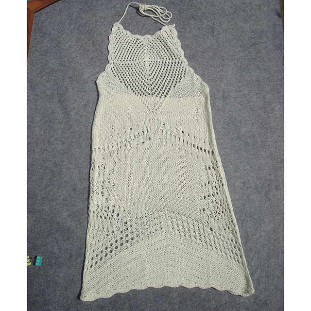 New Swimsuit Knitted Tunic Cover Up