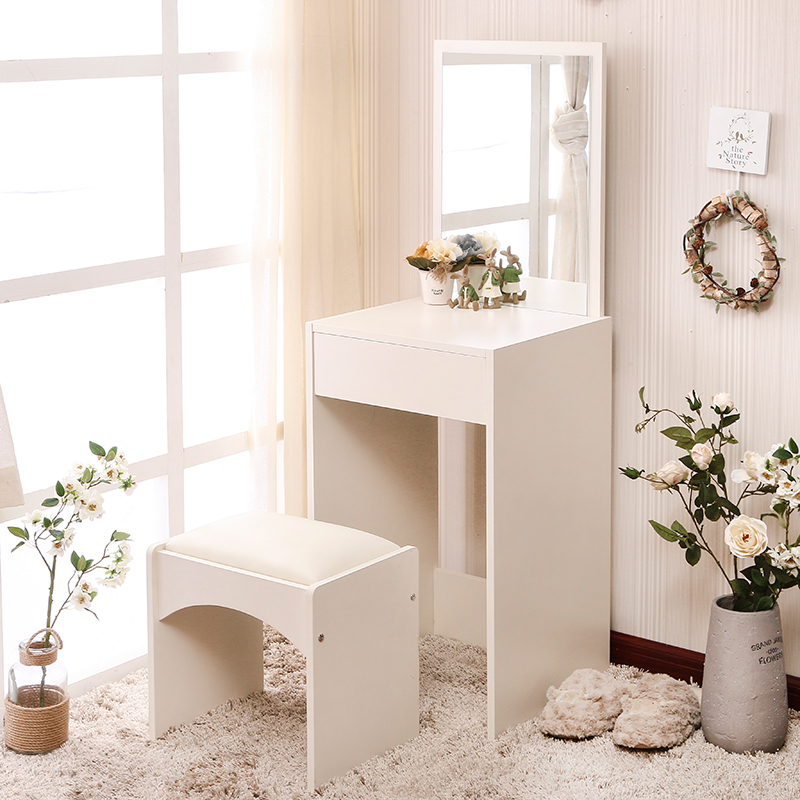 Mini small size of the total size of the modern bedroom small Huxing simple cosmetic table meja kecil untuk kamar