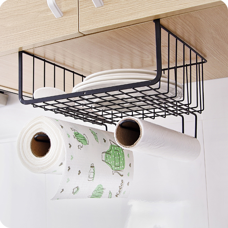 Kitchen Wardrobe Accessories: New Kitchen Accessories Iron Cabinet Racks Table Hanging