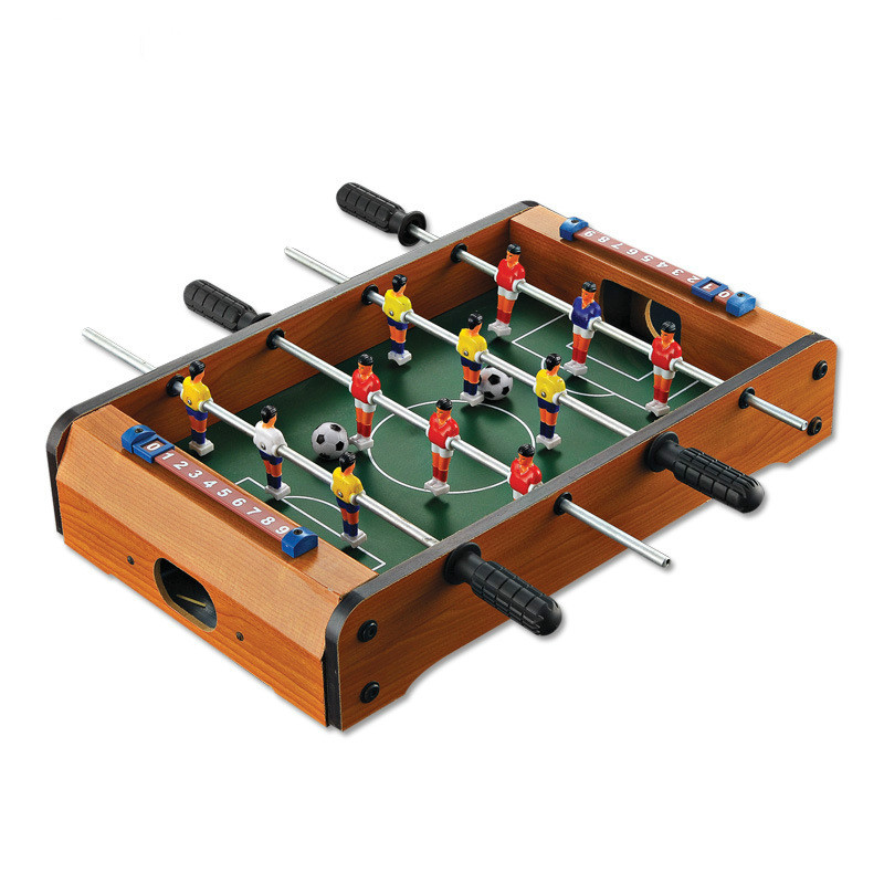 Mini Funny 1Pc Table Foosball Soccer Games Table Top Sports for Home Family Party Leisure Table Game Kids 34.5x21.5x8cm image