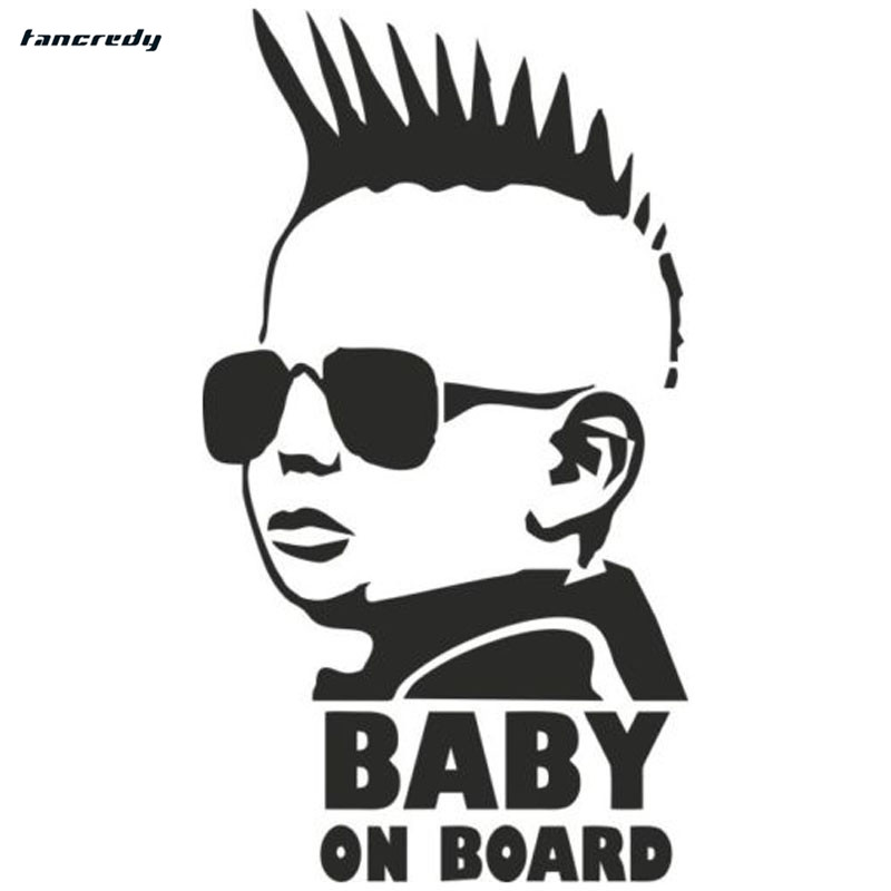 rylybons car stickers Baby On Board 3D Car Stickers Motorcycle decals 8 3 15cm Car stickers