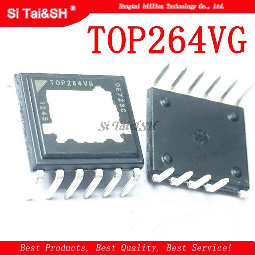 1PCS TOP264VG TOP264 t Integrado Off-Line Switcher com EcoSmart Tecnologia Altamente Eficiente de Suprimentos DIP11 1PCS