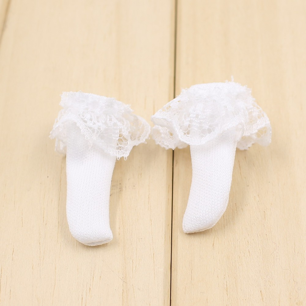 Neo Blythe Doll White Lace Socks 2