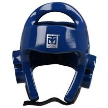 MOOTO шлем тэквондо красный синий для взрослых детей тренировки каратэ защита головы Защитное приспособление для тхэквондо защитные боксерский шлем головные уборы