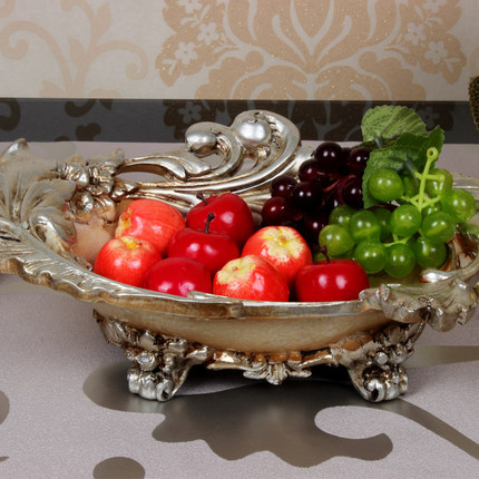 European Style Vintage Fruit Plate Luxurious Resin Bowl Living Room Dining Table Home Decoration Craft Gift On Aliexpress Alibaba