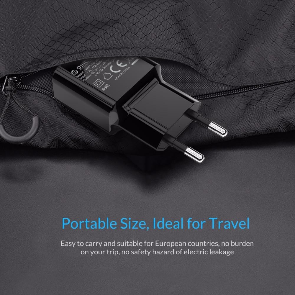 ORICO 미니 USB 벽 충전기 5 볼트 1A 2A USB 여행 휴대 - 휴대폰 액세서리 및 부품 - 사진 6