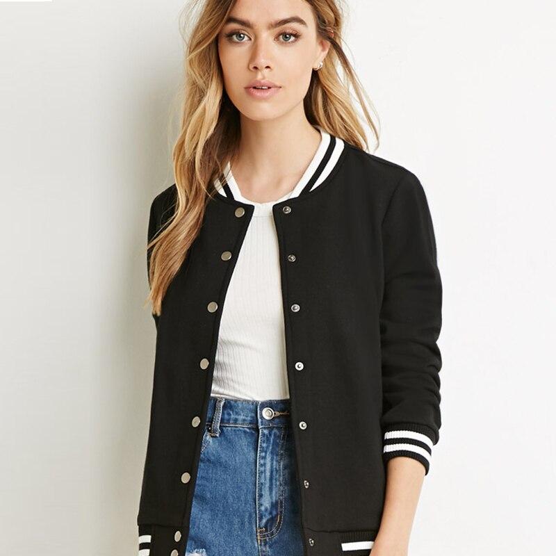 Online Buy Wholesale black baseball jacket from China black