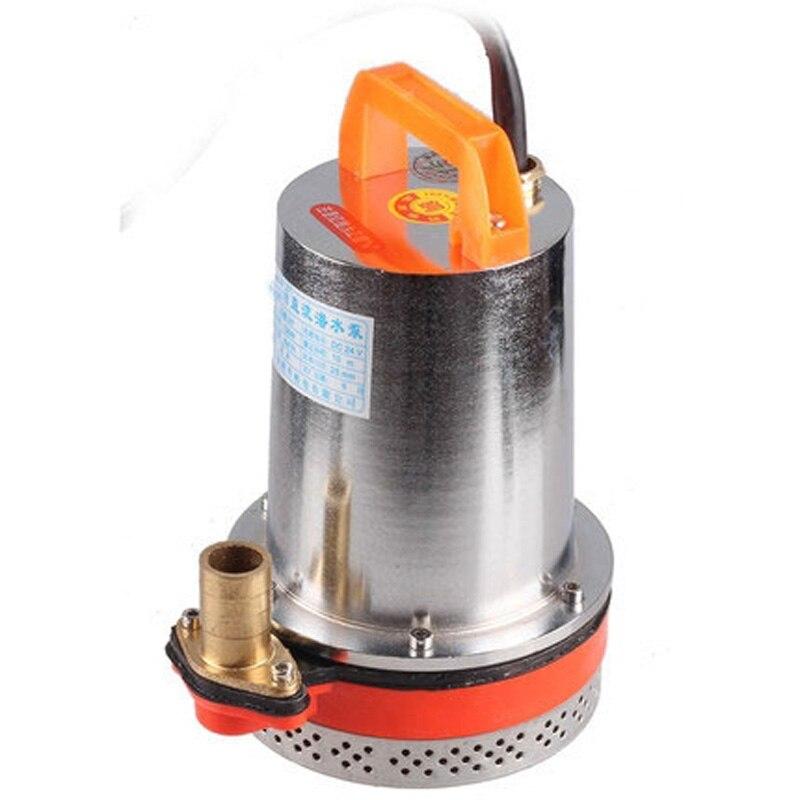 Chine prix usine 100% cuivre moteur 12 v dc pompe solaire pompe à eau 12 v 100L/min 125 W mini 12 v pompe haute pression eau