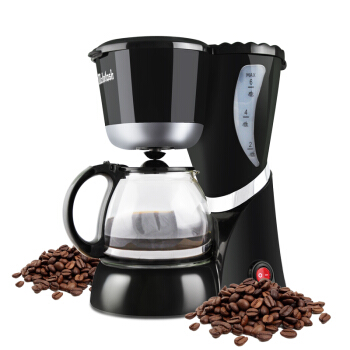 Home full automatic tea coffee dual use cafe American drip coffee maker with coffee tea pot mini fast boiling coffee machine small american drip coffee machine pot with full automatic drip coffee maker