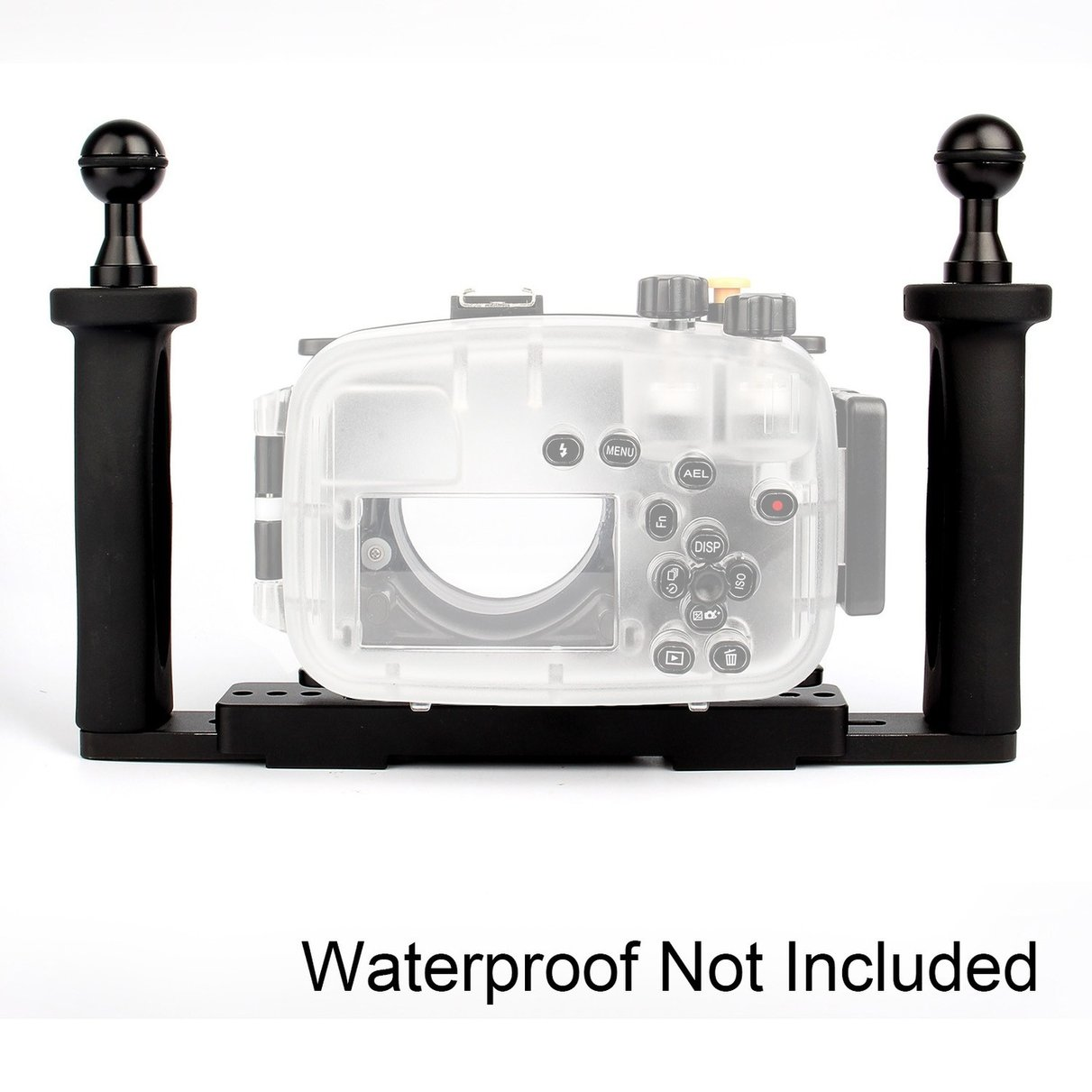 Meikon Two Hands Aluminium Tray for Underwater Camera Housing