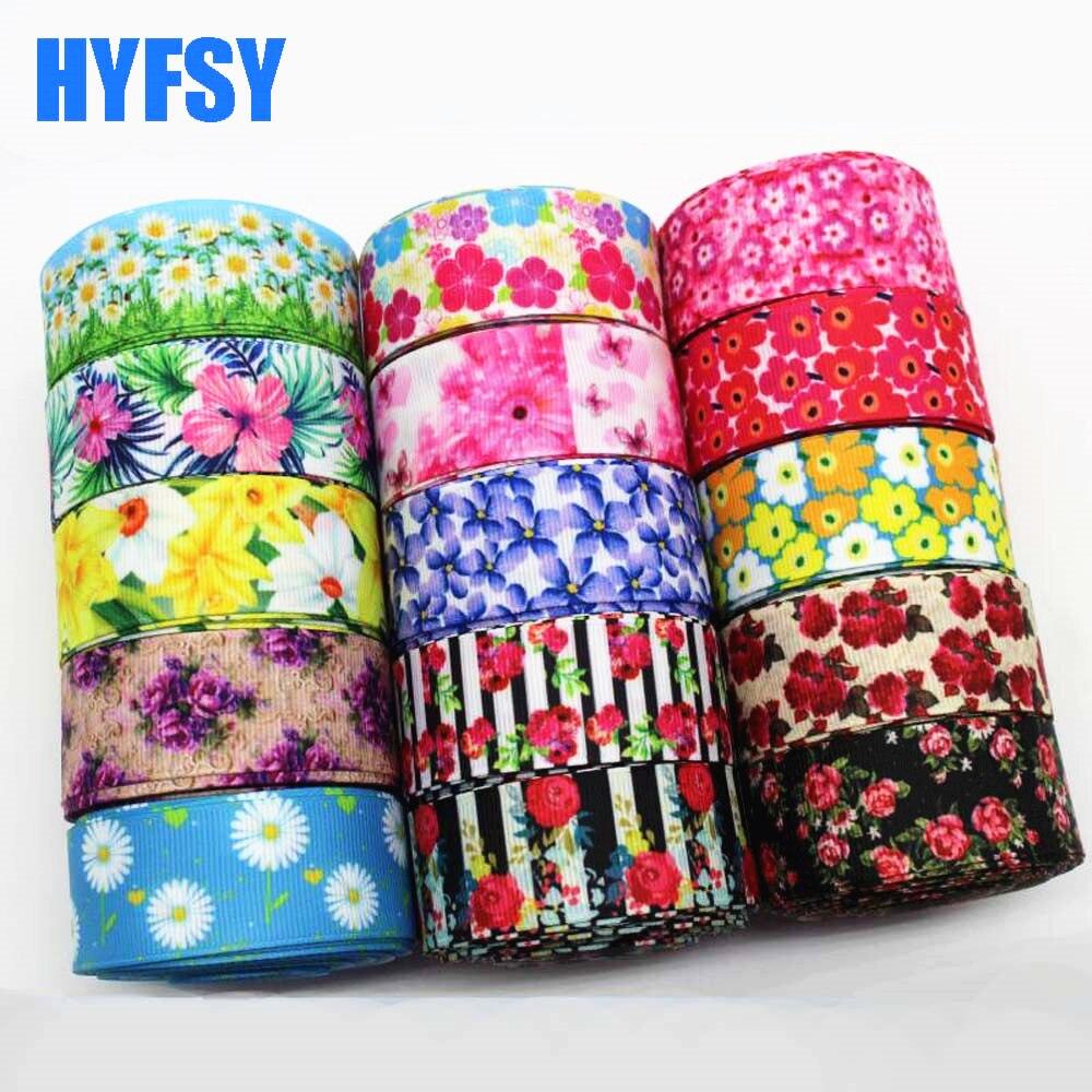 Hyfsy 10051 25 мм большой цветок лента 10 двор ручной работы лента подарочная упаковка «Сделай сам» ленты в крупный рубчик головные уборы