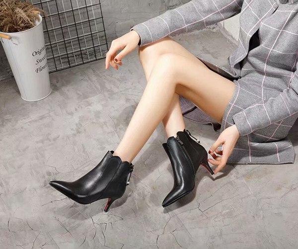 Tobillo Mujer Otoño Zapatos Primavera Cortas Tacón De Botines more Invierno Follow Lujo Negro Pictures Arco Negro Alto Sexy Botas nudo FRqI0
