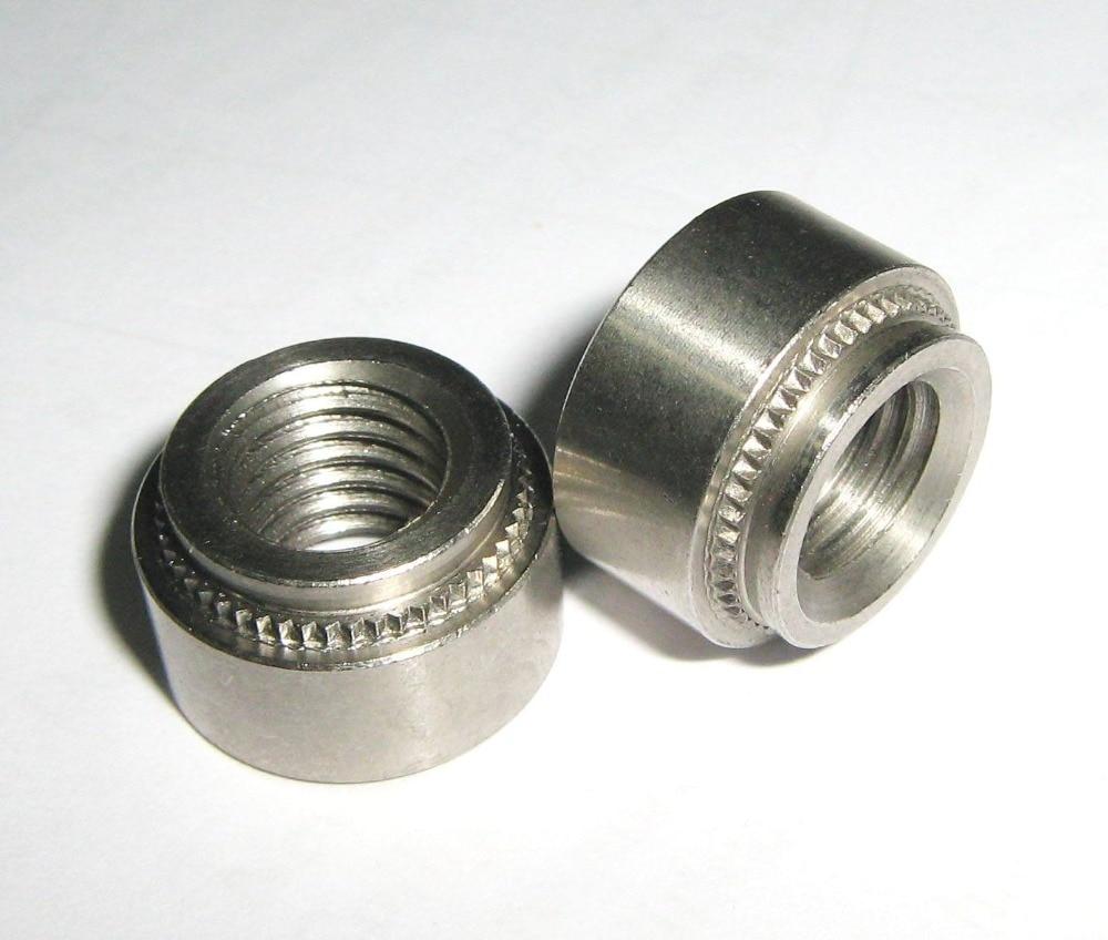 Thin Steel 3//8-16 Weld Nuts Spot Type 1000pcs