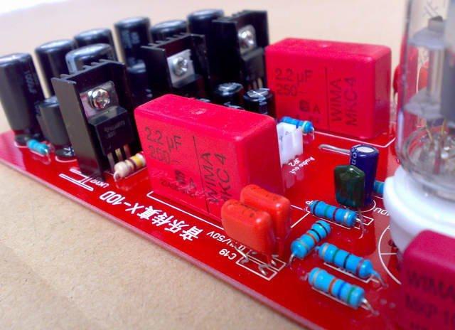 IWISTAO Tube Buffer Preamp PCBA Music Fidelity 6N11 No Gain AC12-15V No Including Transfomer Sweet Taste DIY