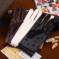 Women Lace Gloves Spring Uv Sun Protection  Gloves ...
