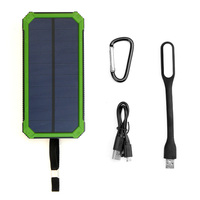 Multi Functional Power Bank 15000mAh Support Emergency Solar Charging For IPhone 5s 6 6s 7 7plus