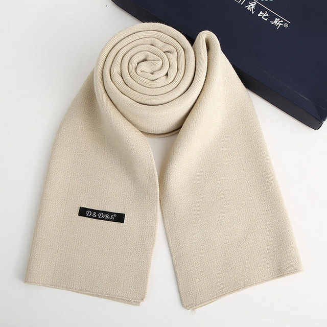 2017 nueva primavera otoño invierno de los hombres calientes del estilo de la bufanda más de cachemir de alta calidad de negocios de color puro caliente de negocios de cuello regalos