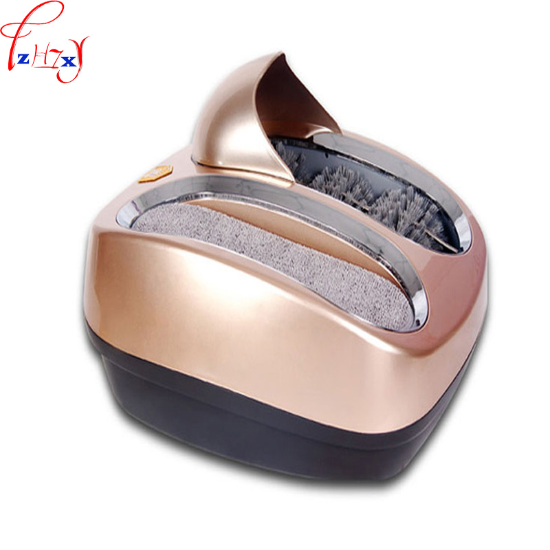 Fully automatic Intelligent shoe sole cleaning machine automatic shoe polishing equipment Instead of Shoe covers machine