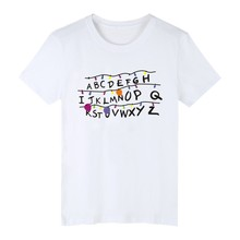 Stranger Things Alphabet T-Shirt