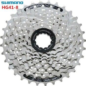 Shimano HG41 8 prędkości 11-32 T MTB rower górski rowerów 8 S HG41-8 kaseta wolnobieg 8-prędkość koła zamachowego mechanizm korbowy rowerów części 312g