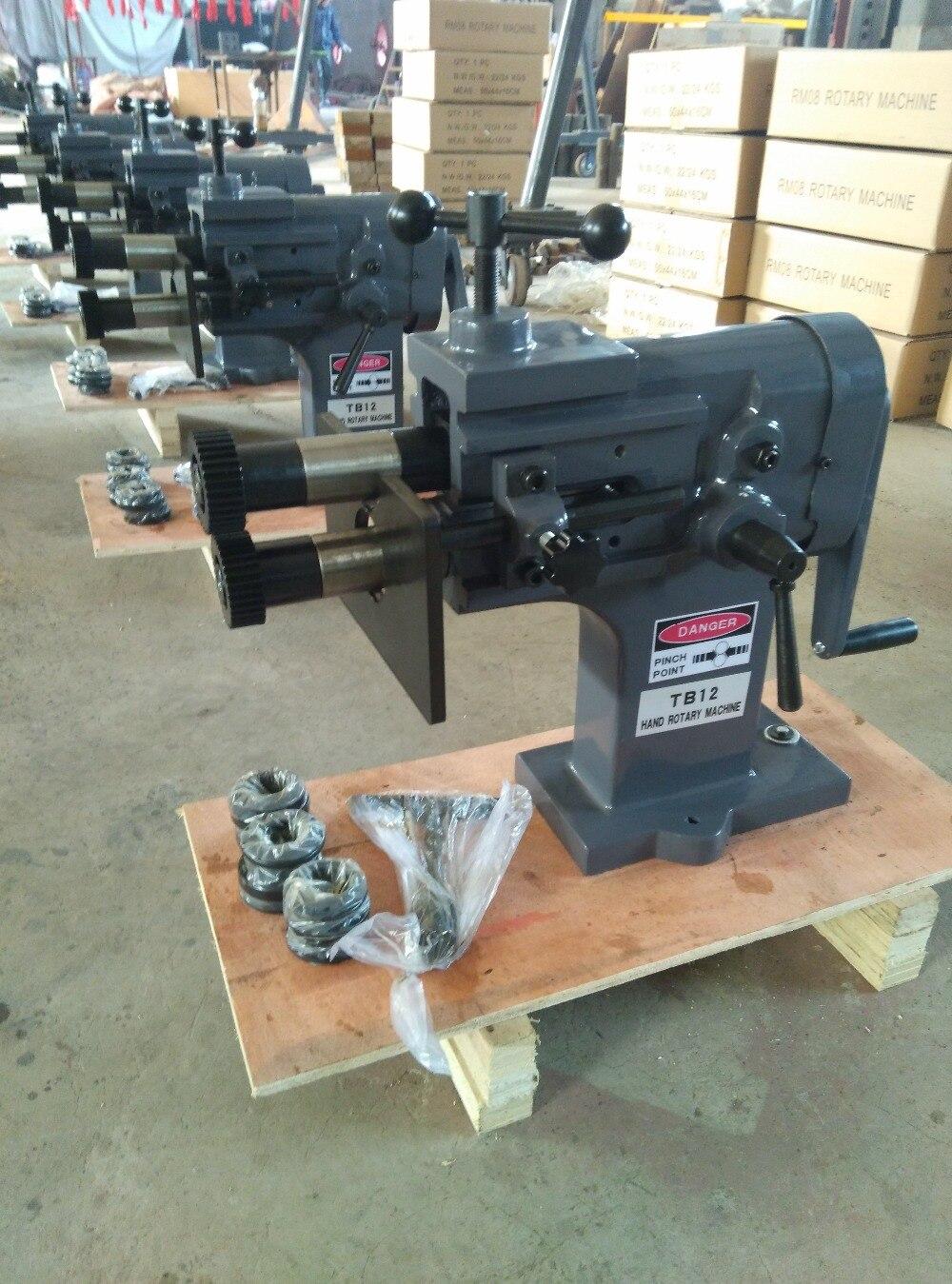 TB 12 metal plates sheet forming rotary machine blank pressing machinery hand tools