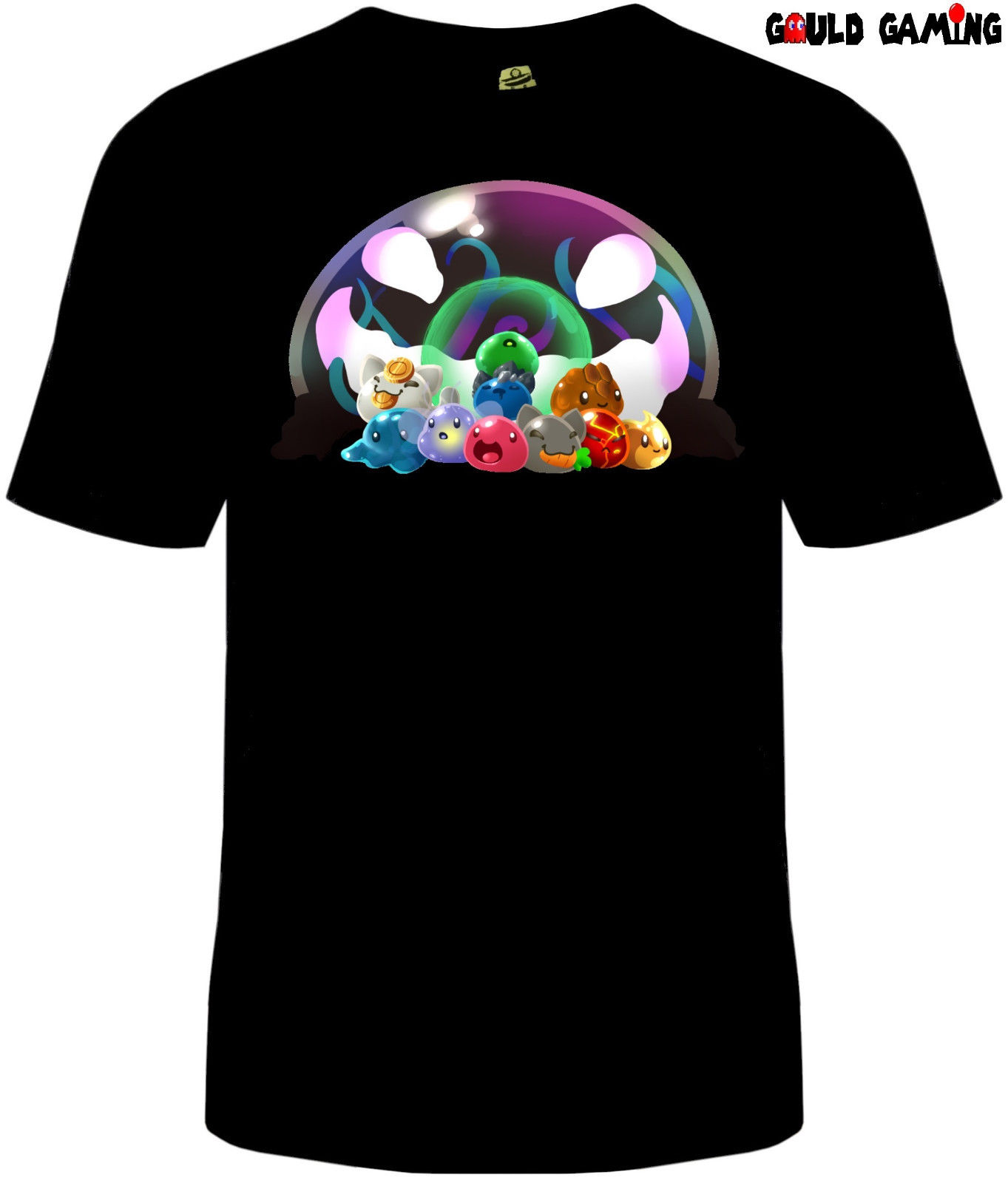 <font><b>Slime</b></font> <font><b>Rancher</b></font> T-<font><b>Shirt</b></font> Unisex Mens Cotton <font><b>Slimes</b></font> Tarr Video Game free shipping Unisex Casual gift image