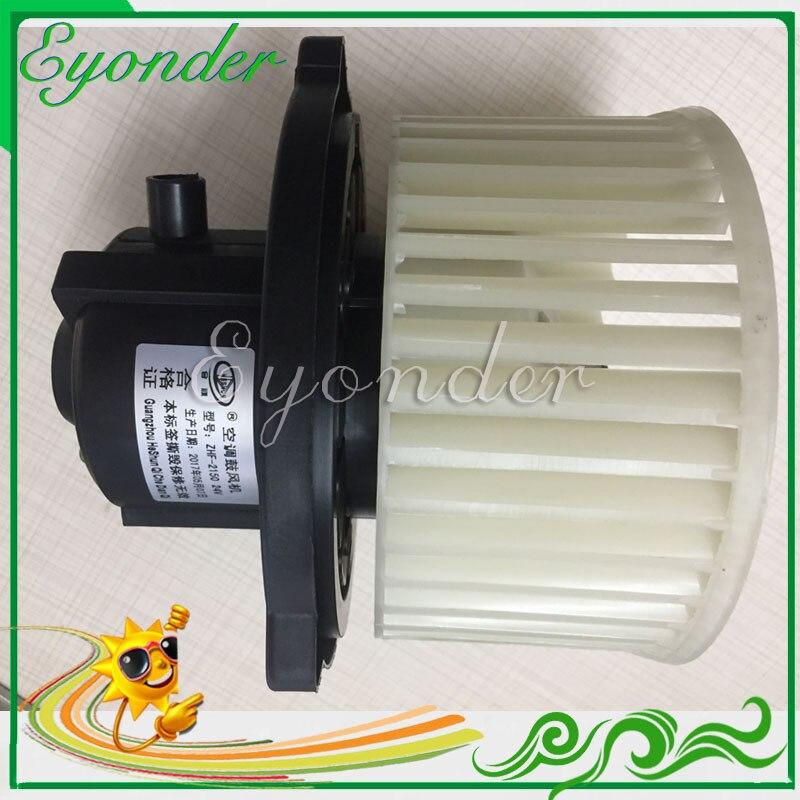 Nuevo A/C AC Aircon aire acondicionado Motor de ventilador de aire 24V para Hyundai máquina excavadora camión 11N6-90700 11N690700 11N690700