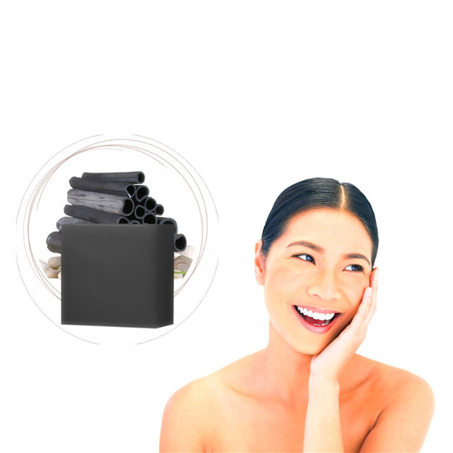 Black Handmade Soap Face Blackhead Remover Herbal Medicine Suction Pores Grease Dirt Acne Treatment Deep Cleansing Oily Skin