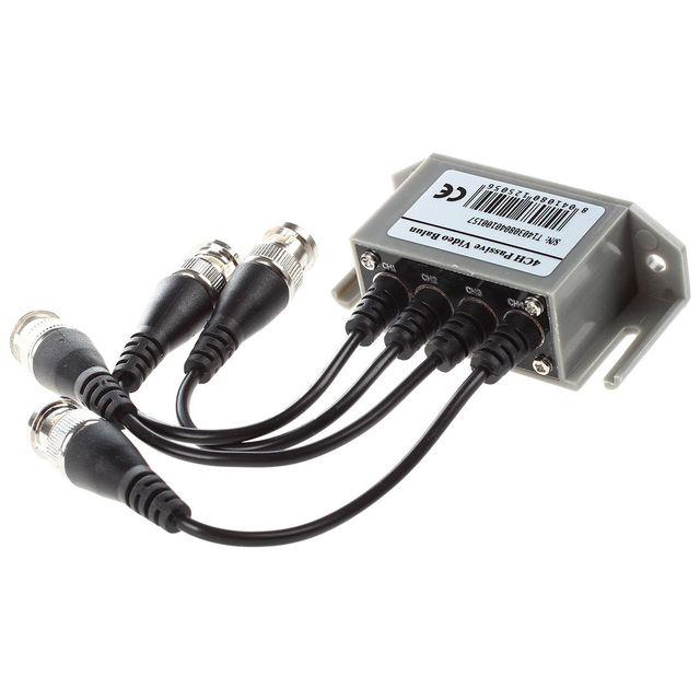 ESCAM 4-kanał wideo balun BNC nieuczciwych praktyk handlowych CAT5 nadajnik do CCTV/kamera monitorująca Trend