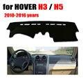 Приборной панели автомобиля охватывает мат для HOVER H3 H5 2010-2016 лет с левым рулем dashmat pad даш обложка авто приборной панели аксессуары
