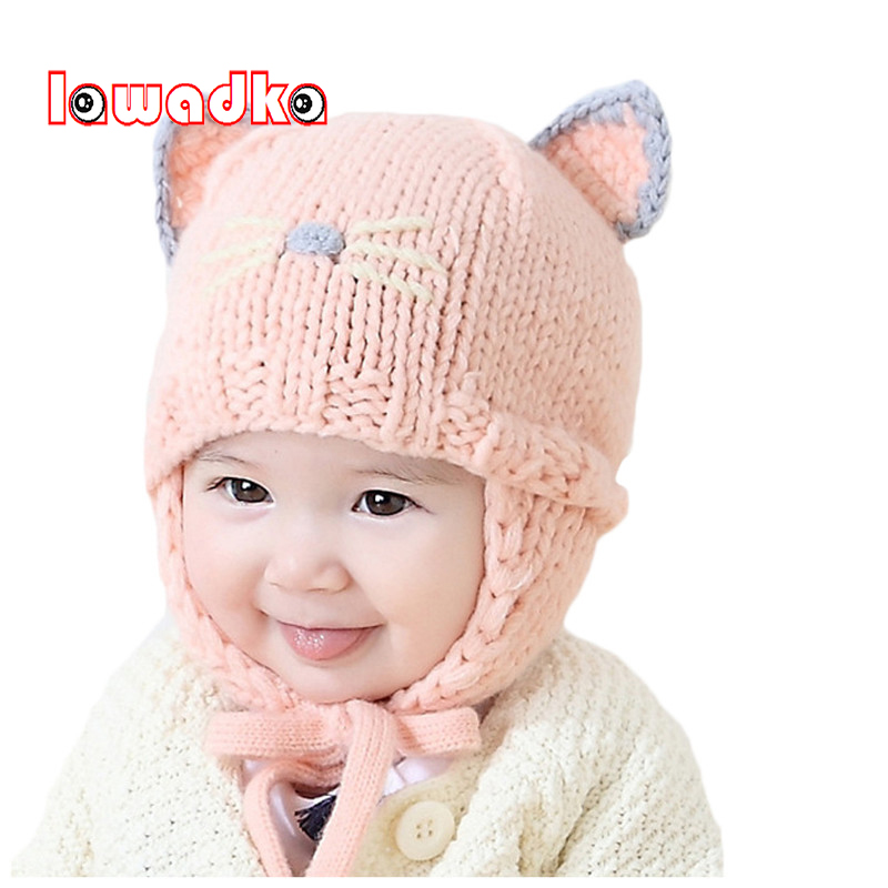 Girls' Clothing Hats & Caps 2017 New Winter Girls Hats Knitted Owl Caps Kids Baby Winter Hats Bonnet Enfant Hat For Children Baby Muts For 1-2 Years Traveling