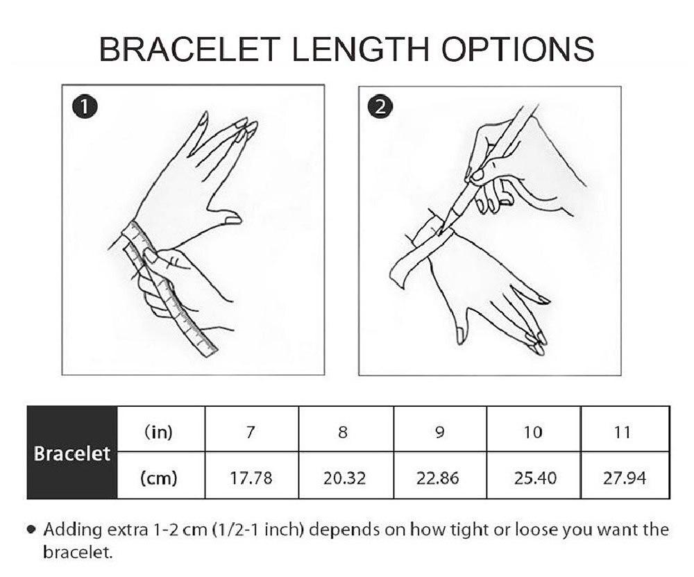 手链测量及尺寸表
