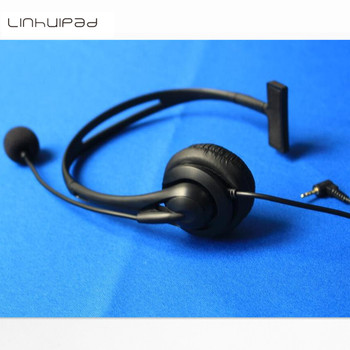 Linhuipad Manufacture Cheap Call Center Telephone Headset Noise Cancelling 2.5mm jack фото