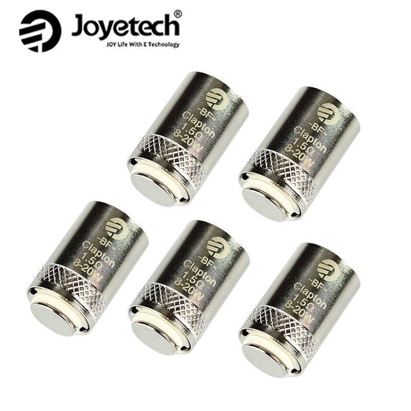 5 piezas/10 piezas/20 piezas Joyetech EGO AIO bobina de Cubis BF bobina SS316 0.5ohm/0.6ohm/ 1ohm bobina para CUBIS/EGO AIO/cubo Mini atomizador