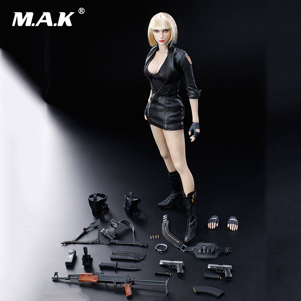 Collectible Full Set Female Action Figure 1/6th Scale Cross Fire Mandala The Protector Action Figure Doll Model Toys 1 6 scale full set male action figure kmf037 john wick retired killer keanu reeves figure model toys for gift collections