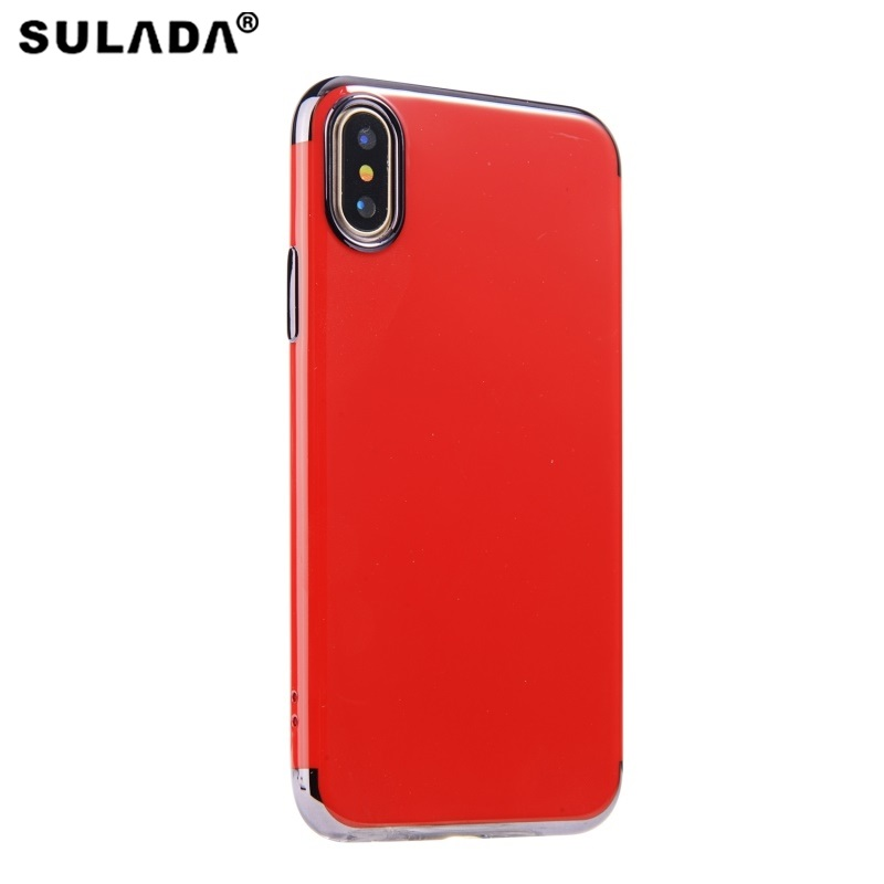 SULADA for Apple iPhone X TPU Cases Electroplating