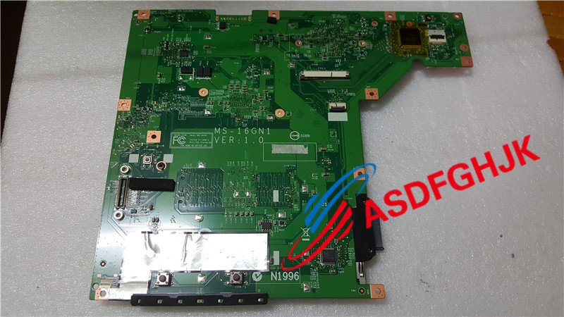 Original stock MS-16GN1 VER:1.0 For MSI CR650 A6500 MS-16GN1 with CPU Model system motherboard MS-16GN 15.6 100% work perfectly motherboard for msi a6200 ms 16811 ver 1 1 model 100