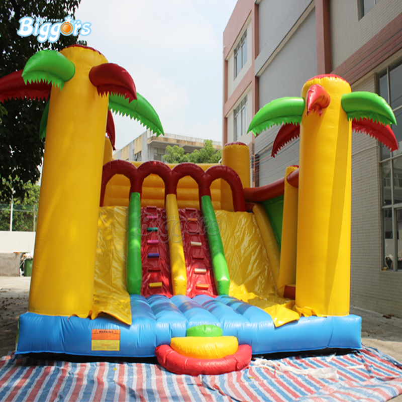 In Stock Giant inflatable playground inflatable dry slide inflatable outdoor commercial slide цены онлайн