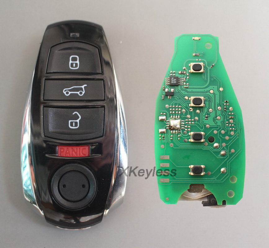 for VW Touareg 3 1 button fob smart remote key control transmitter 315mhz or 433mhz