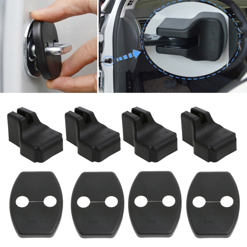 Car Door Lock Cover Stopper Protection For Skoda Octavia A7 Fabia Rapid Superb New Drop shipping