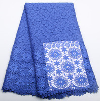 African Lace Fabric High Quality Newest Design French Guipure Lace 5yard Lot Guipure Lace Trim Evening