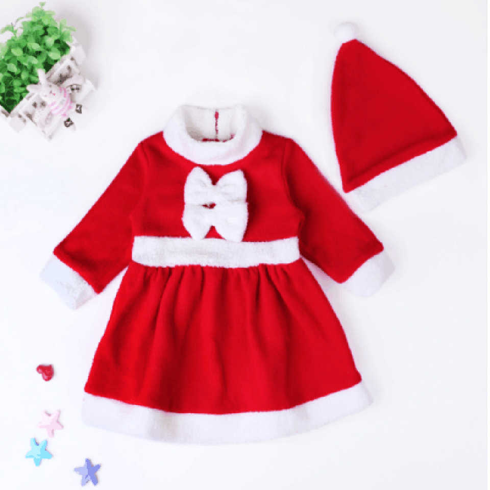 12m 12t Children Christmas Clothing Set Baby Boys Girls Santa Claus Costumes Suit And Dress Infant Toddler Kids Warm Clothes Child Christmas Dress Infantkid Dress Clothes Aliexpress
